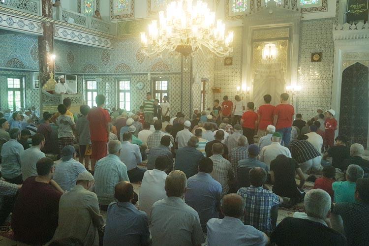 Beykoz Ortaçeşme Camii'nde 15 Temmuz hassasiyeti