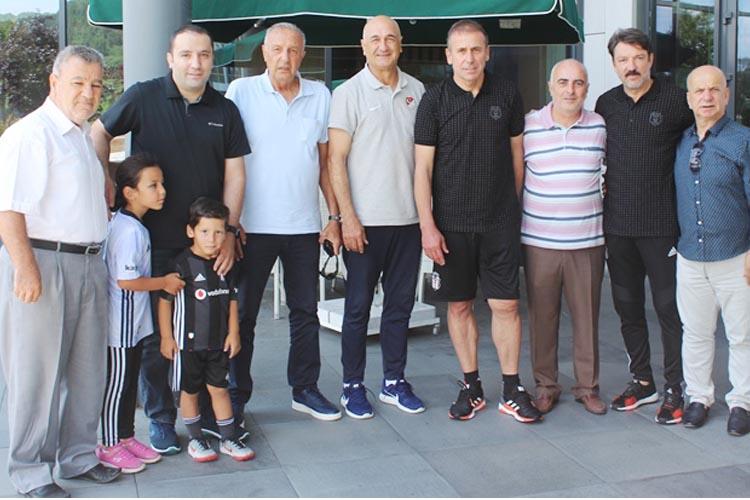 Beykoz Spor Yönetimi, Beşiktaş'ı Riva'da ziyaret etti