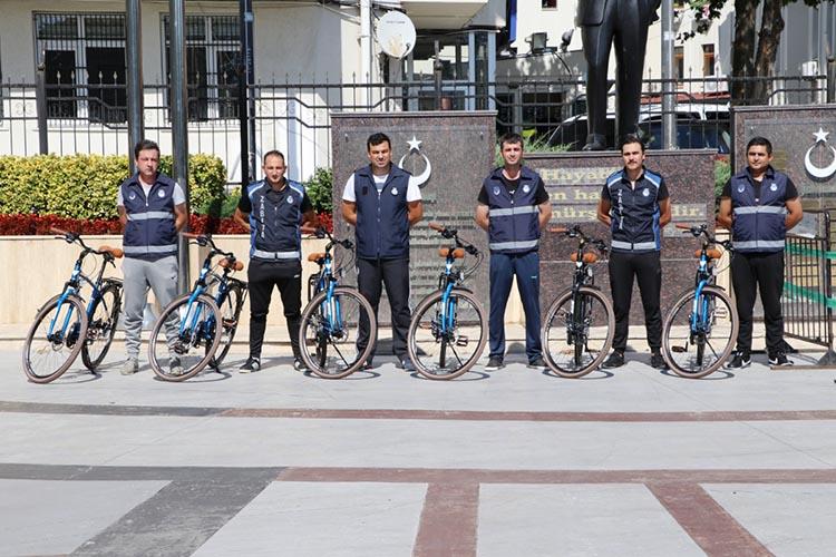Beykoz'a bisikletli zabıta ekipleri