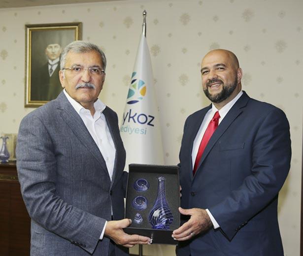 Başkan Mohammed Khairullah misafirperverliği için Başkan Aydın'a teşekkür etti