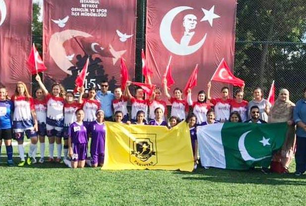 Türkiye Pakistan dostluğu Beykoz sahalarında