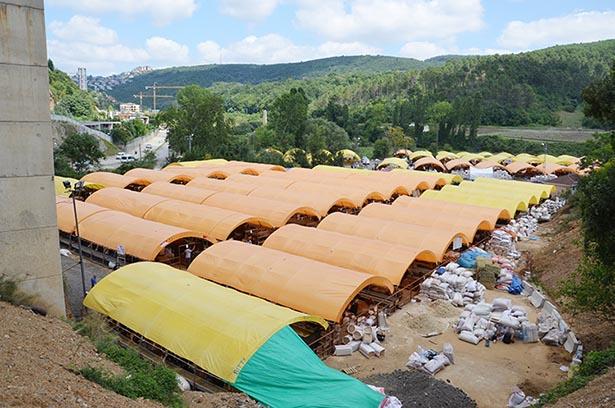 Beykoz Belediyesi bu çadır yıl bedellerini 12 bin  TL olarak belirledi