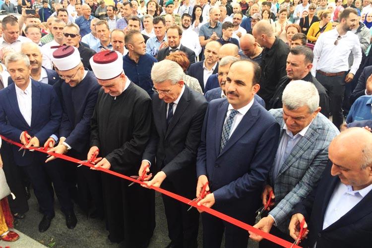 Murat Aydın Bosna Hersek'de açılışa katıldı