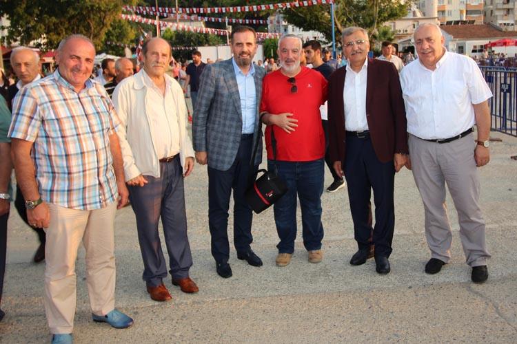 Beykoz Belediye Başkanı'nın Abana ziyareti