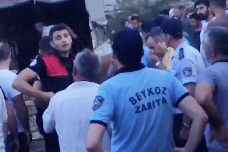 Kurbankent'e hayvanlar polis zoruyla getirildi