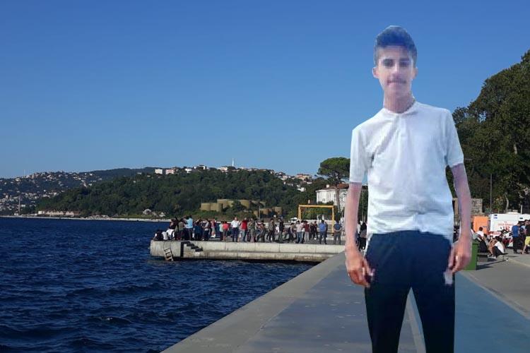 Beykoz'da denizde kaybolan Mustafa'dan acı haber
