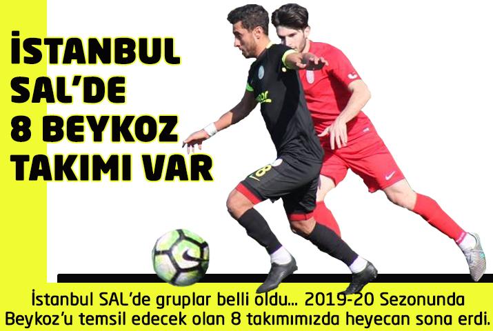 İstanbul Süper Amatör Lig'de 8 Beykoz takımı var