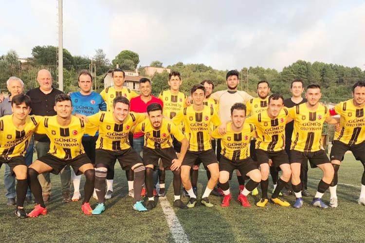Beykoz köyler arası futbol turnuvası başladı