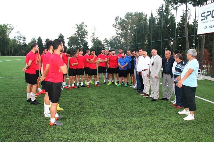 İstanbul Mesudiye Spor Yönetimi Beykoz'da toplandı