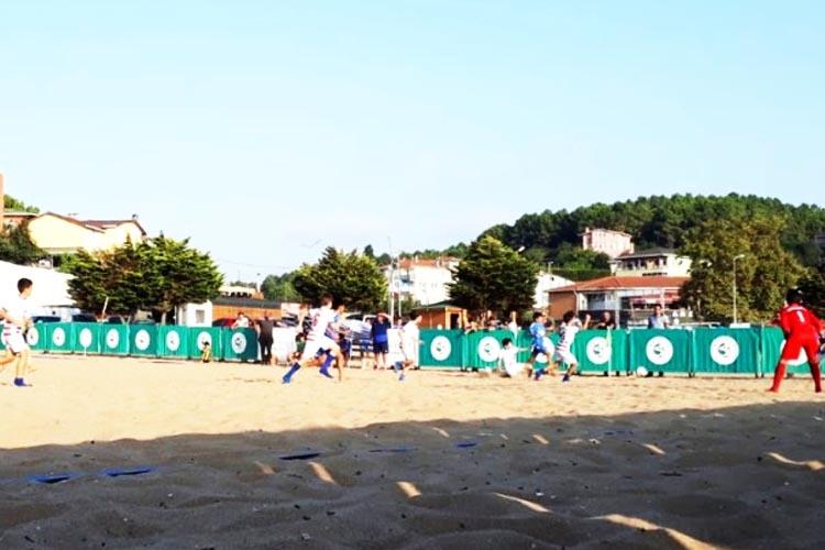 Riva Plaj Turnuvası'nda renkli hafta sonu