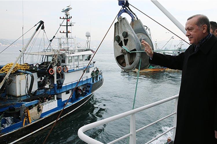 Cumhurbaşkanı Erdoğan Beykoz'da balıkçılarla buluşacak