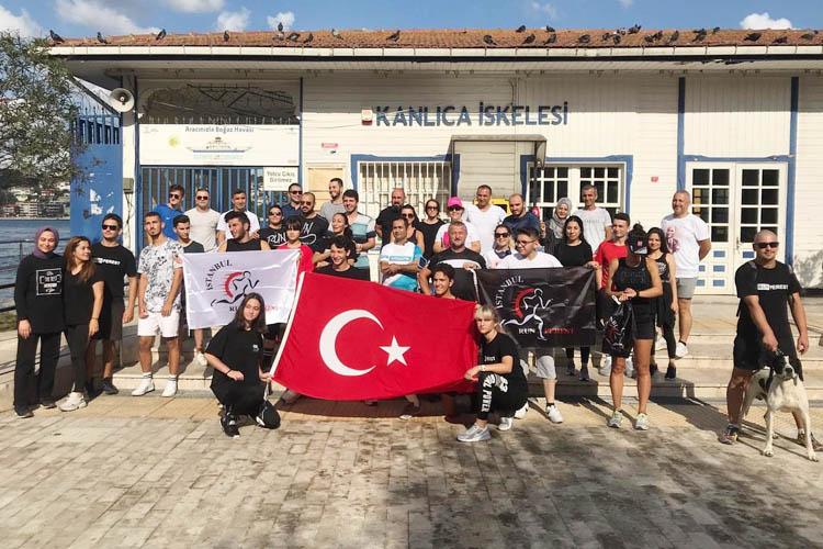 Beykoz Runners ekibi, 30 Ağustos için koştu