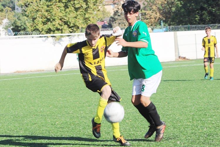 Beykoz Stadı'nda siftahı U14'ler yaptı