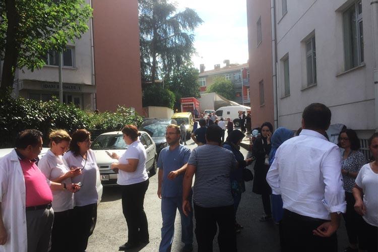 İstanbul depremi Beykoz'da paniğe neden oldu