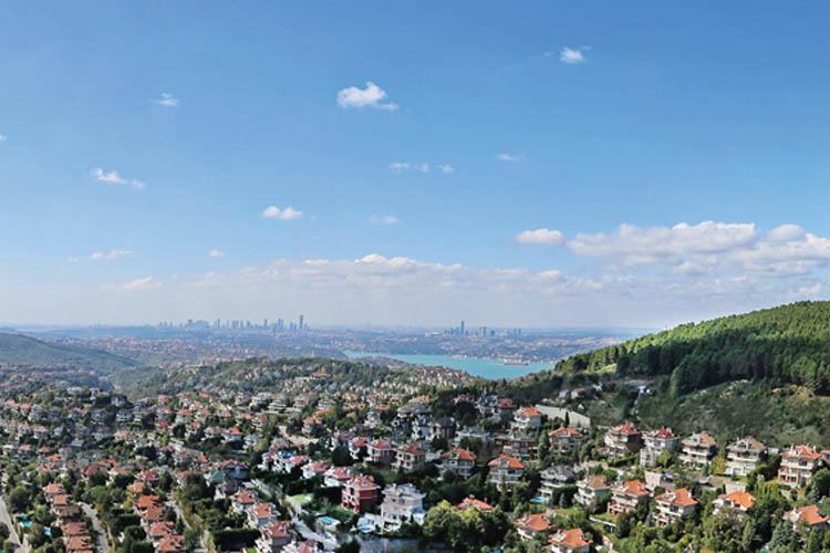Beykoz'da konutlar üst gelir seviyesine hitap ediyor
