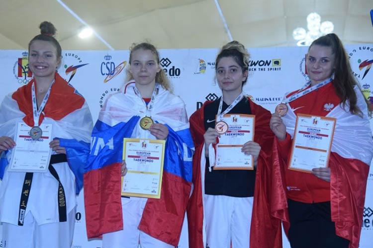 Beykoz'un altın kızı İspanya'dan bronzla döndü