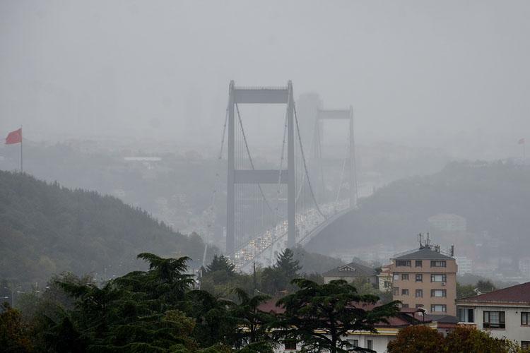 Beykoz'da kötü hava şartları