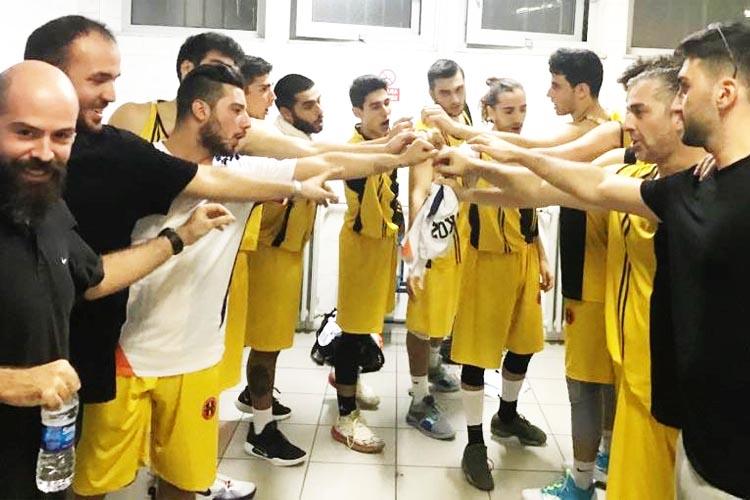 Beykoz Basketbol takımı galibiyetle başladı