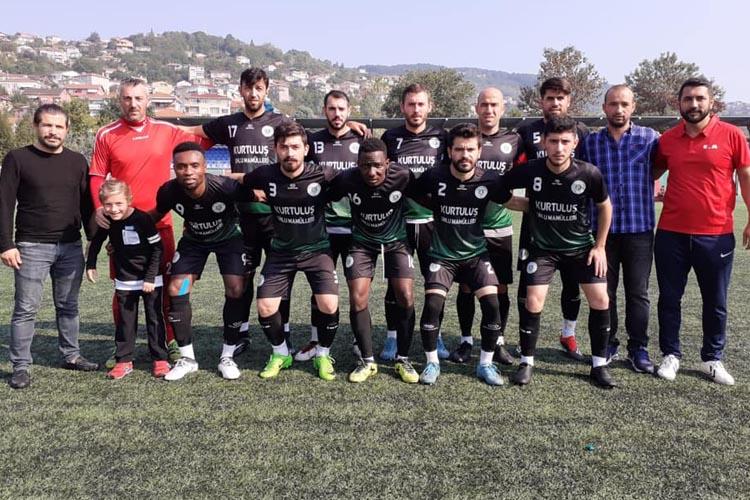 Gümüşsuyuspor, mağlubiyetten galibiyete gitti
