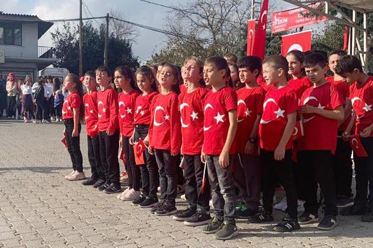 Beykoz Cumhuriyet Köy'de 29 Ekim kutlaması