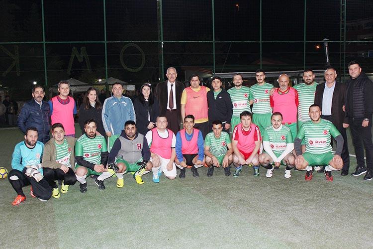Beykoz sağlık camiasında sporun kardeşliği