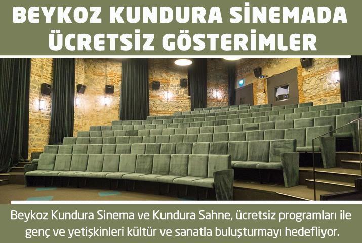 Beykoz Kundura'da ücretsiz gösterimler başlıyor