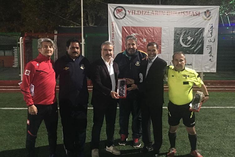 Beykoz ve Pakistan'ın spor kardeşliği