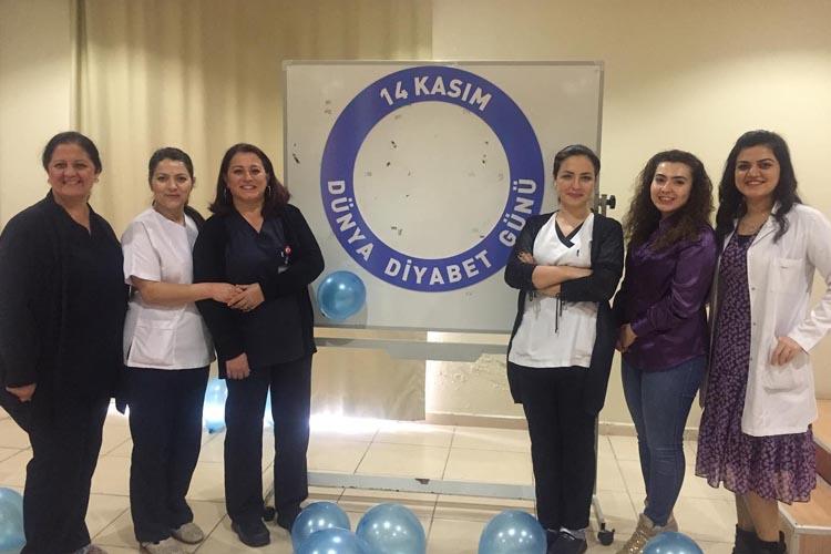 Beykoz Devlet Hastanesi diyabete dikkat çekti