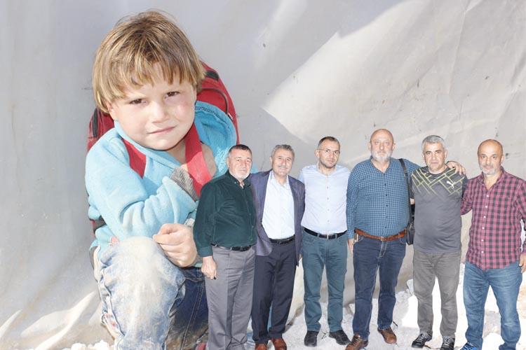 Beykoz'dan Suriye yetimlerine uzanan kardeşlik