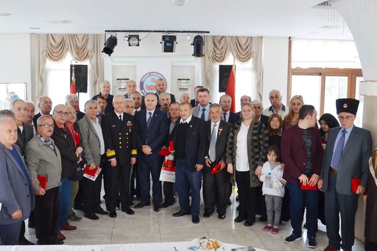 Kıbrıs Gazileri, Beykoz'da madalyalarını aldı