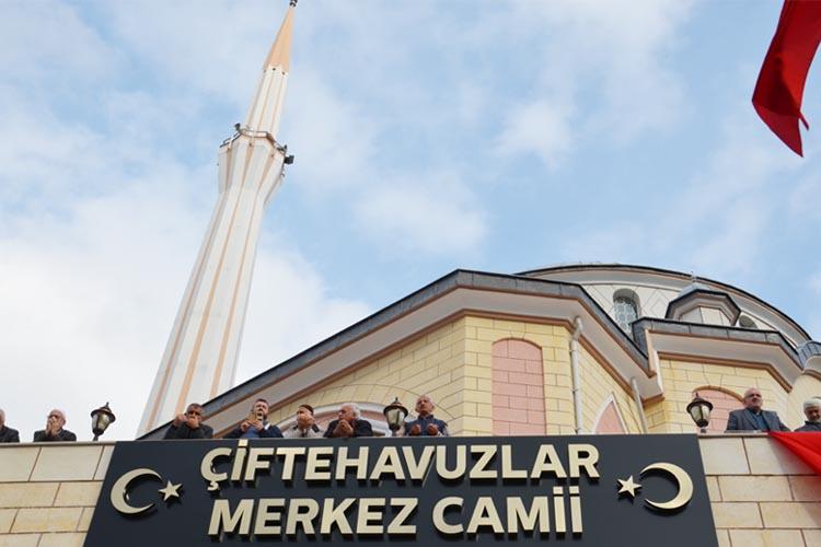 Beykoz'da Mevlüt Meryem Özer Camisi, ibadete açıldı