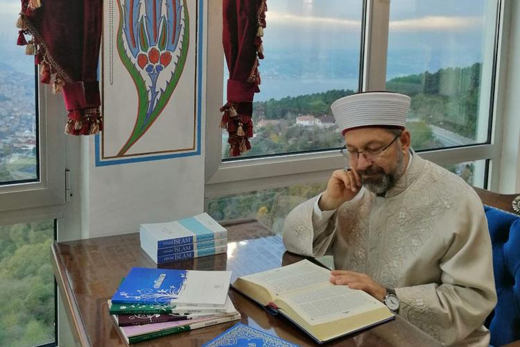 Diyanet İşleri Başkanı, Beykoz'un camisini gezdi