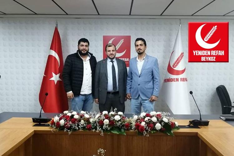 Yeniden Refah Partisi Beykoz İlçe Başkanı değişti