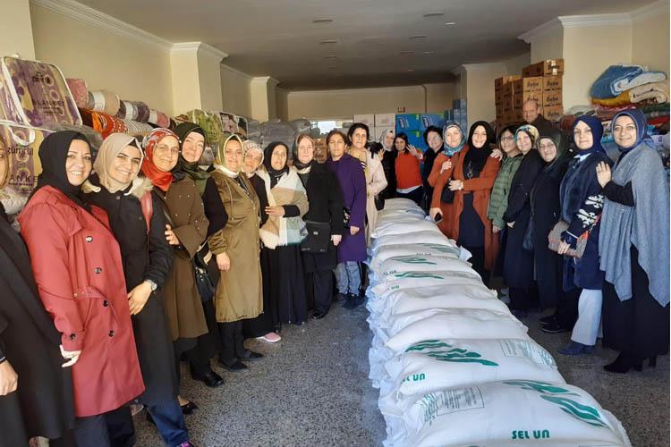 Beykoz'un AK Kadınları Suriye'yi unutturmuyor