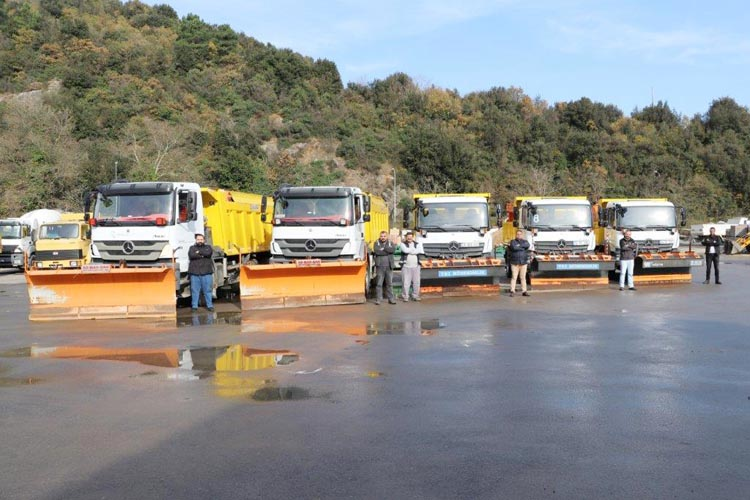 Beykoz Belediyesi 2 bin ton tuz stokladı