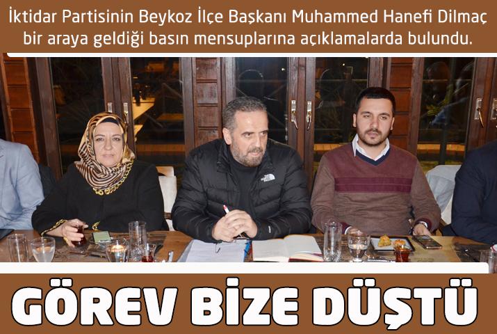 Murat Aydın'ı Beykoz'a tanıtma görevi bize düştü