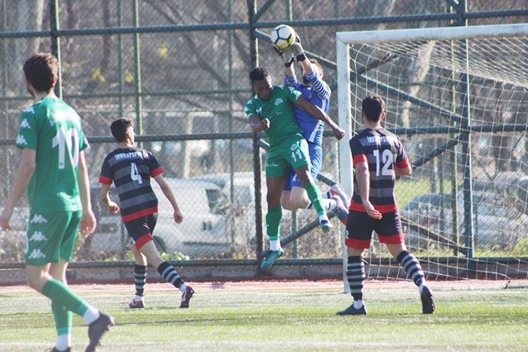 Gümüsuyuspor'un aklı playoff maçında kaldı: 1-2