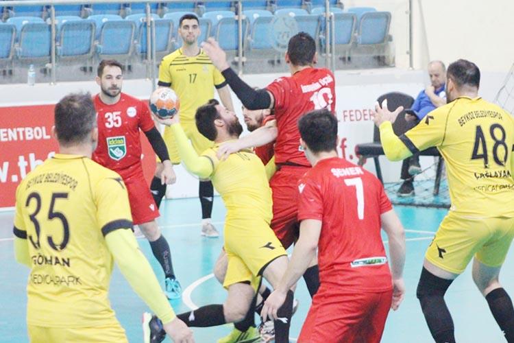 Beykoz Belediyespor Türkiye Kupası'nda avantaj yakaladı