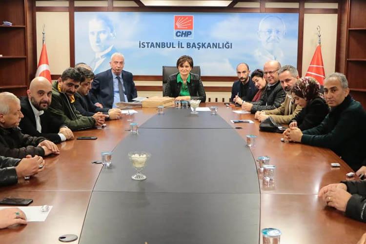 CHP Beykoz'dan Kaftancıoğlu ziyareti