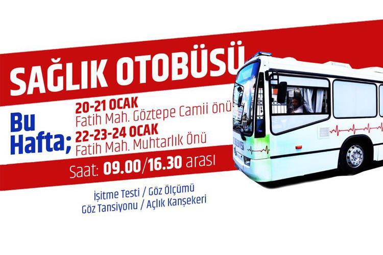 Beykoz'un sağlık otobüsü Fatih Mahallesinde