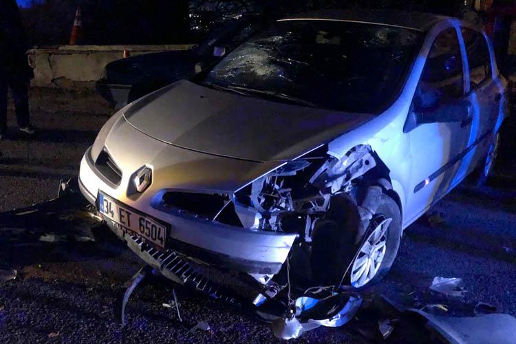 Beykoz'da alkollü baba oğlunu yaraladı