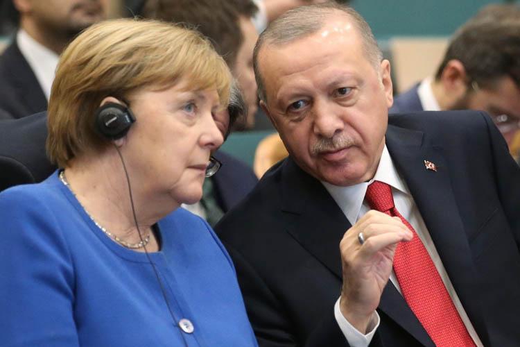 Erdoğan-Merkel ikilisi Beykoz'da açılış yaptı