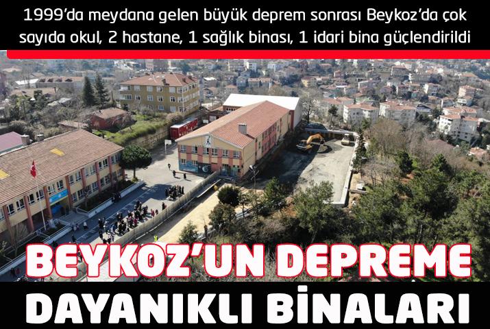 Beykoz'da hangi binalar depreme dayanıklı?