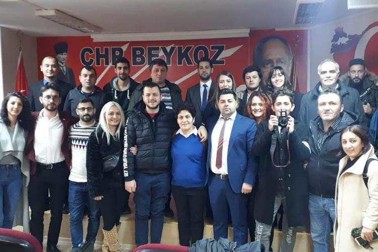 CHP Beykoz Gençlik Kolları adayına eskilerden destek