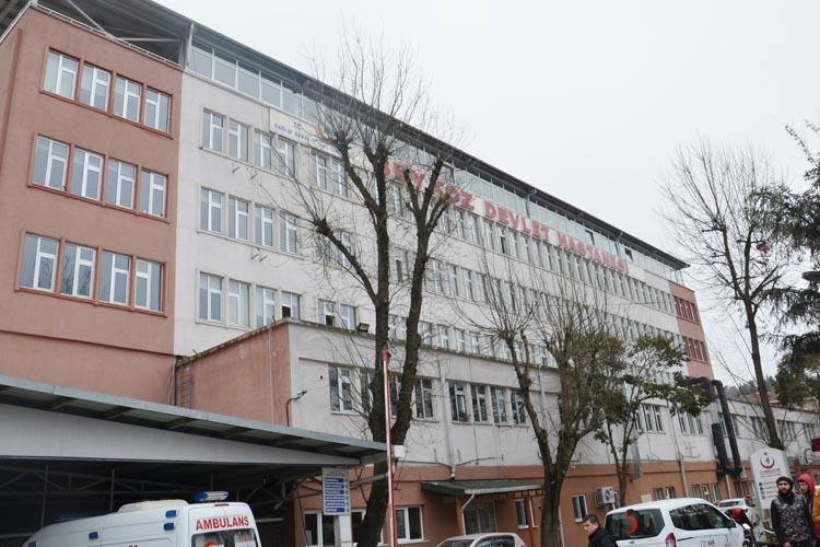 Beykoz Devlet Hastanesi'ne getirildi