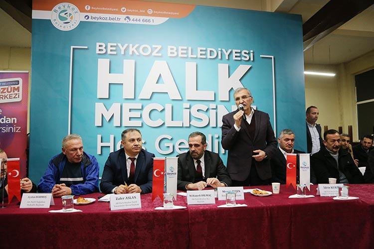 Beykoz Belediye Başkanı Soğuksu'da ne dedi?
