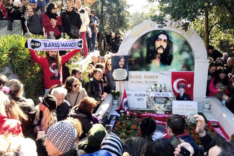 Usta Sanatçı Barış Manço Beykoz'da anıldı