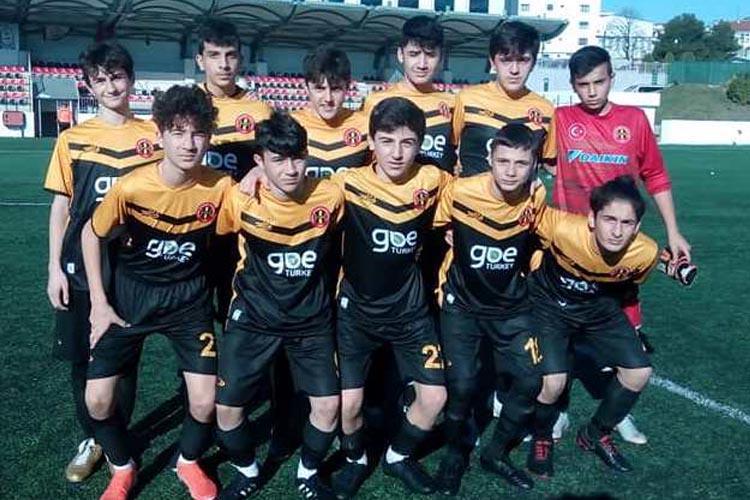 Beykoz 1908, U15 gençlerinde yüzler gülüyor: 2-0