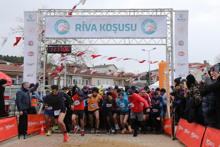Beykoz'da 3. Riva Koşusu yapıldı