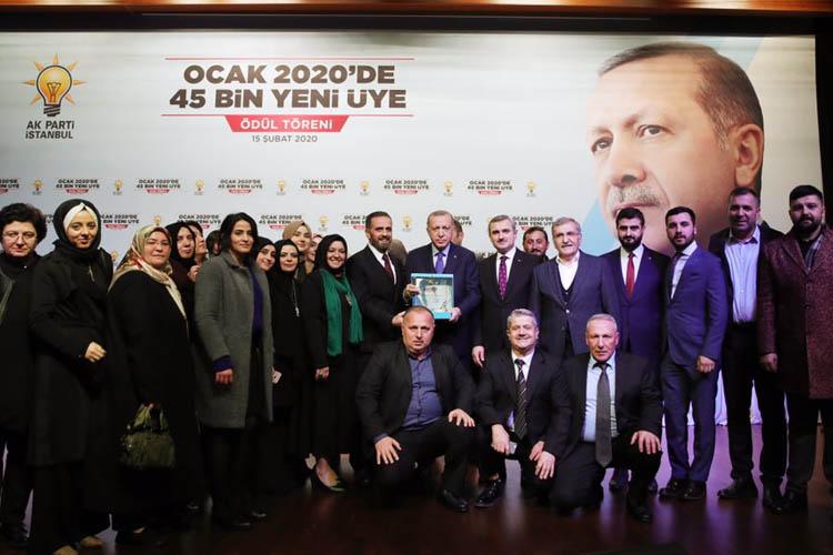 Cumhurbaşkanı Erdoğan'dan Beykoz'a bir ödül daha